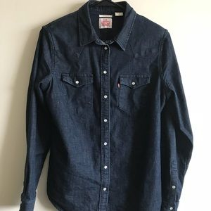 Levi's western button up